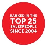 Kelly Midwood - Top 25 salespeople since 2004