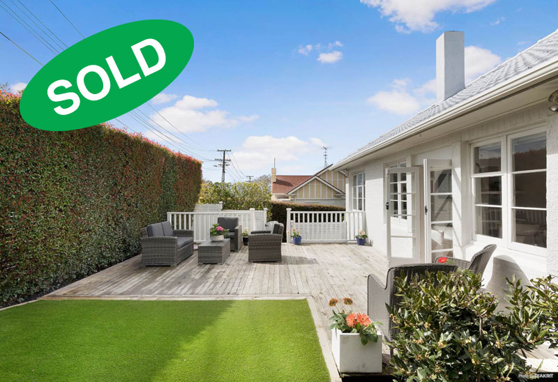 15A HAWERA ROAD, KOHIMARAMA, AUCKLAND - sold by Kelly Midwood