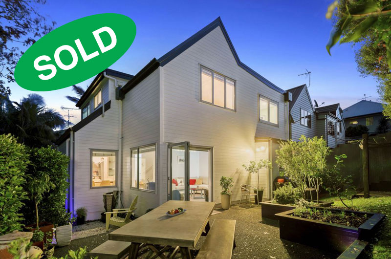 3/15 WALMSLEY ROAD, ST HELIERS, AUCKLAND - sold by Kelly Midwood